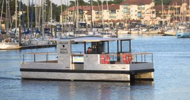 All-electric passenger ferry for holiday town