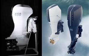 photos of soon to be released outboard electric boat motors from GreenStar Marine