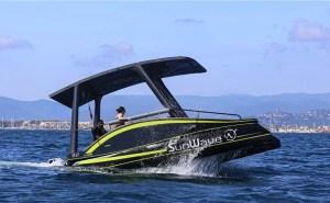 SunWave S2 electric solar boat