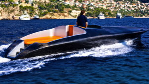 worlds first solar electric speedboat races along offshore