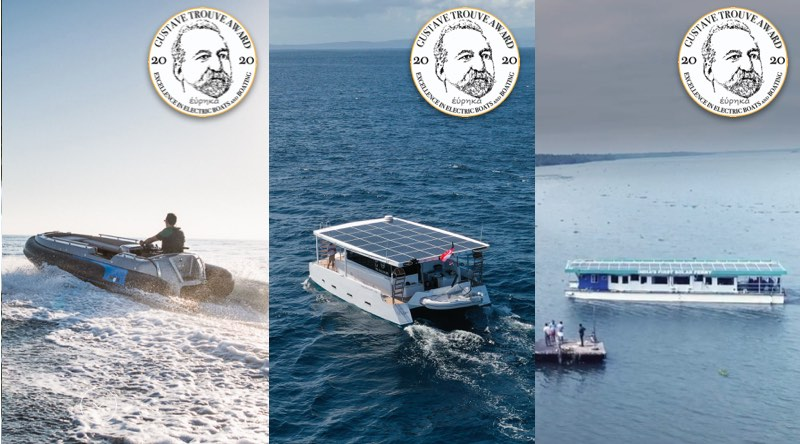 Photos of 3 electric boat awards winners