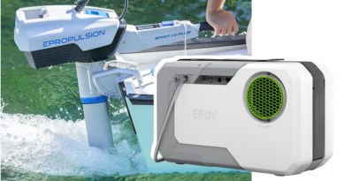 ePropulsion electric outboard, EFOY methanol fuel cell hook up