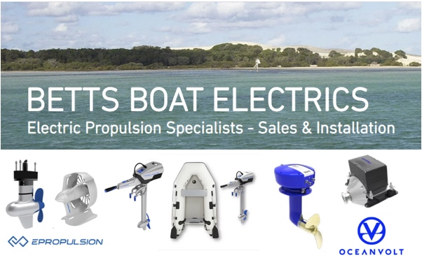 Betts Boat Electric electric boats and motors Australia