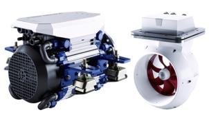 Vetus electric motors - the 10kW E-line and E-pod