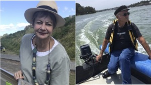 Australia electric outboards founders Lynelle Johnson and Ron Kelly
