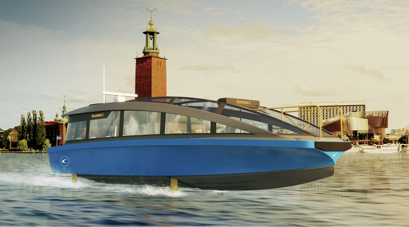 World's fastest electric ferry artist's impression