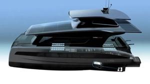 Silent Yachts - Volkswagen prototype: artist's impression