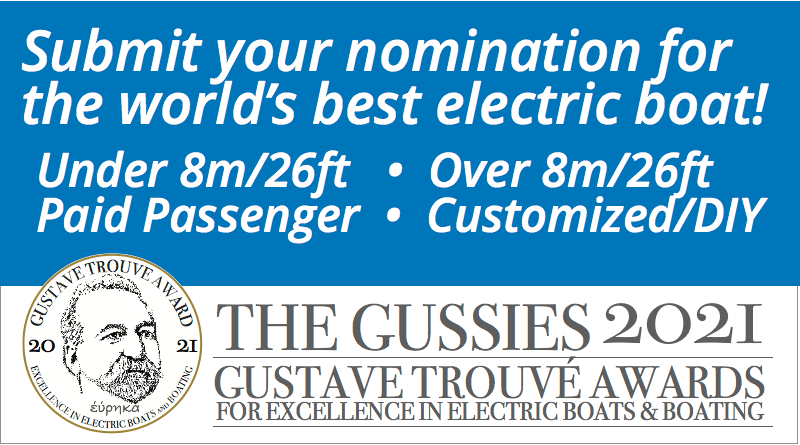 Words: Gussies electric boat awards nominations are open