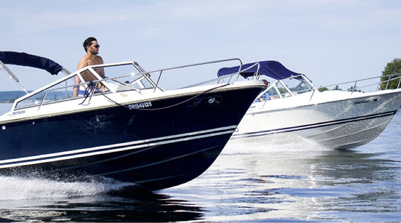 Two boat models that will be offered as Limestone Boat electric