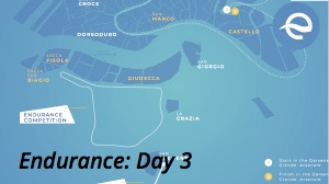 Endurance race map -world's 1st e-Regatta