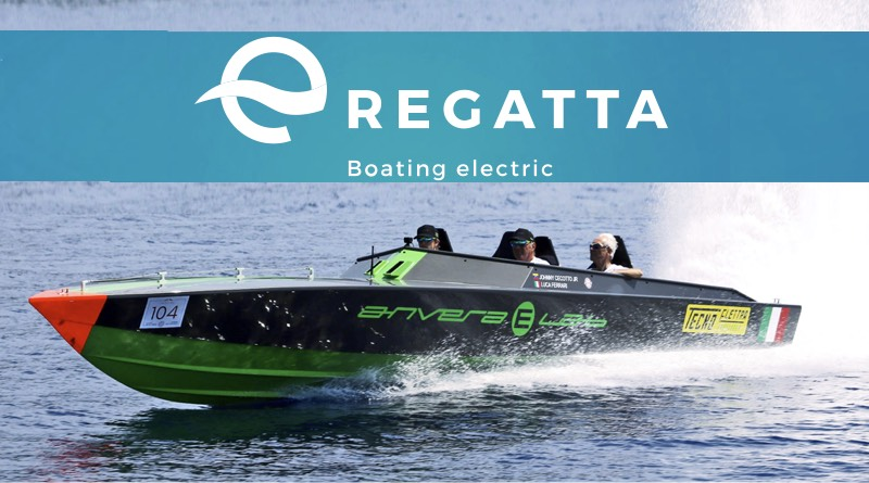 world's 1st e-regatta will feature this boat from Envara e-labs speeding along the water