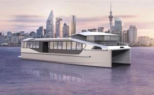 EVM electric ferry artist conception