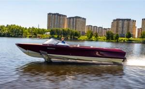 Electric Boat Awards nominee Molniya Hyrdofoil