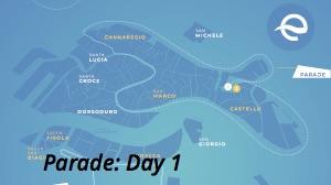 Map - world's 1st e-Regatta day 1