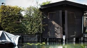 Original Torqeedo headquarters - a boathouse on Lake Starnberg
