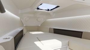 Candela 8 interior berth