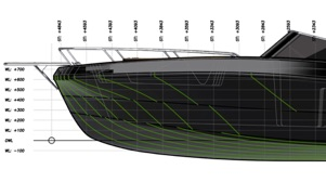 design drawings og the Magonis Wave e-550