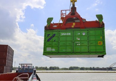 Swappable shipping container batteries help Heineken go green