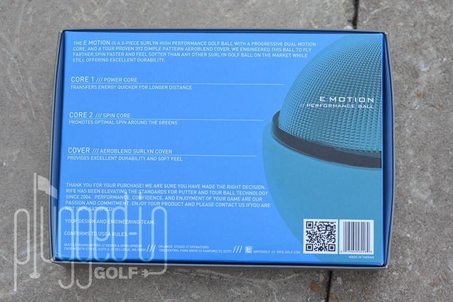 Rife Golf Balls (7)