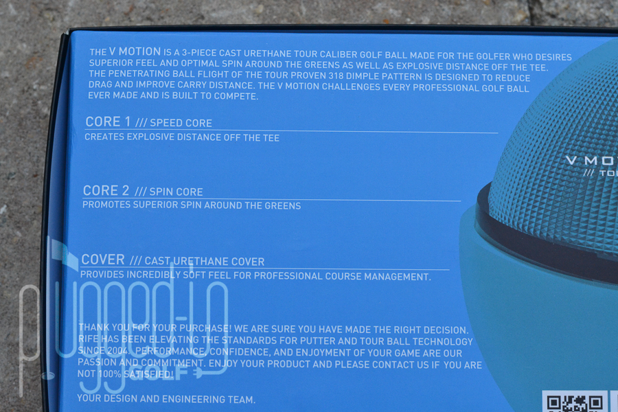 Rife Golf Balls (8)
