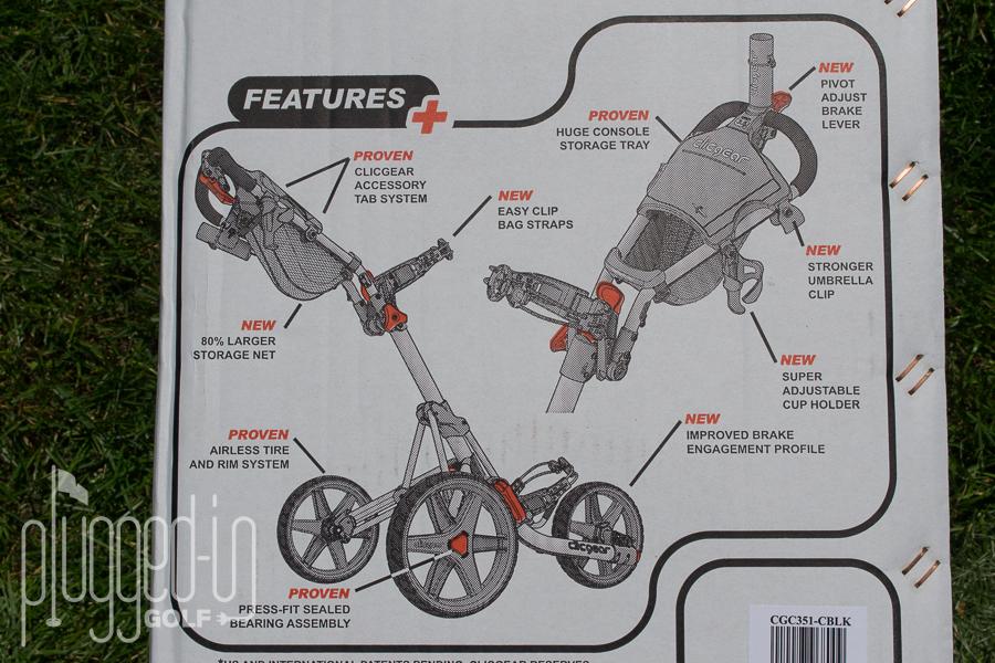 Clicgear 3.5 Push Cart (41)