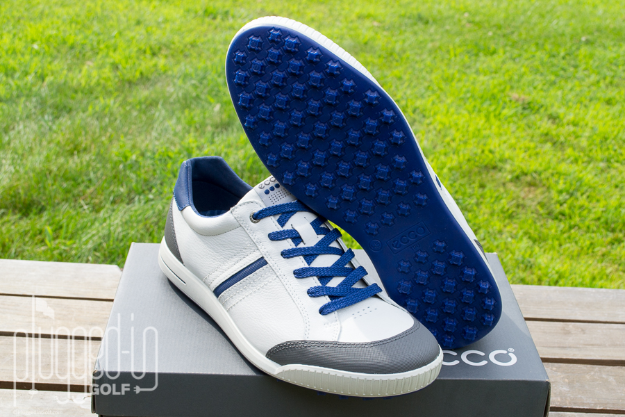 on feet shots of authorized site new arrival Ecco Street Retro Golf Shoe Review