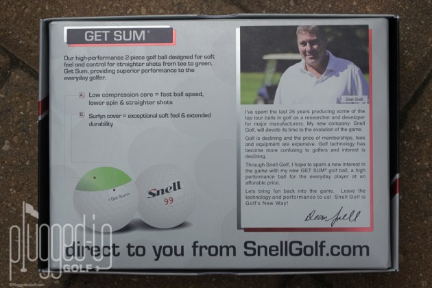 Snell Golf Get Sum Golf Ball_0056