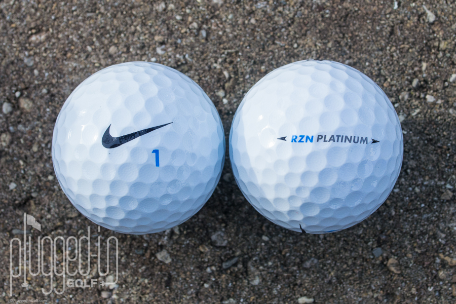 Nike RZN Tour Platinum Golf Ball Review - Plugged In Golf 68e390e481f8