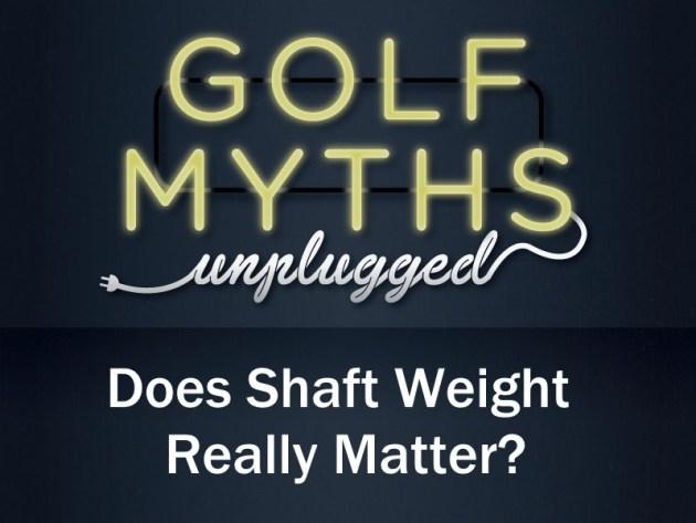 Shaft Weight Headline