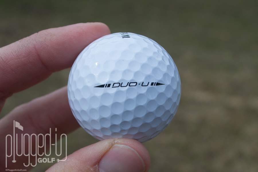 Wilson staff duo urethane golf ball review plugged in