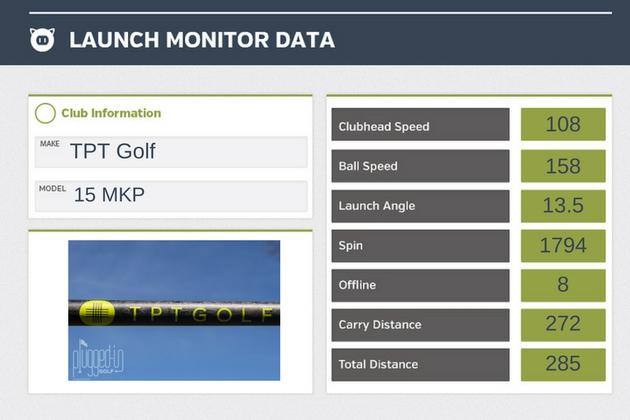 TPT Golf LM Data