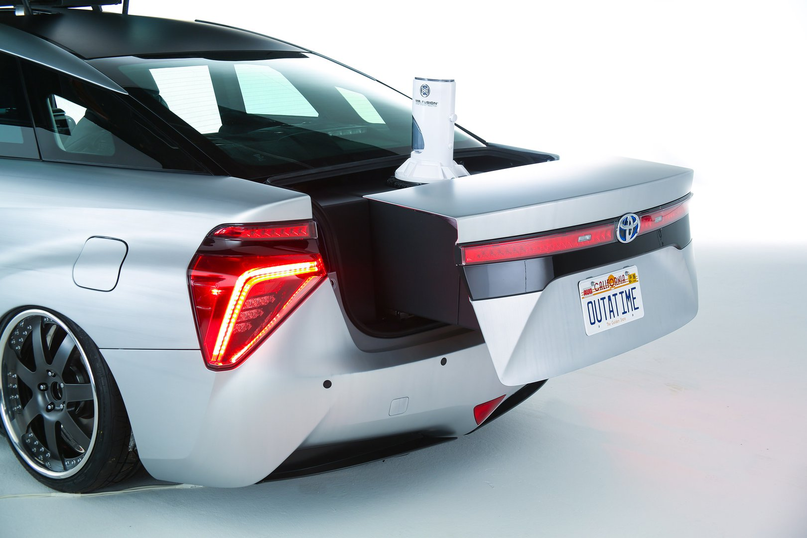 Toyota Mirai Goes Back To The Future  Driving  Plugin