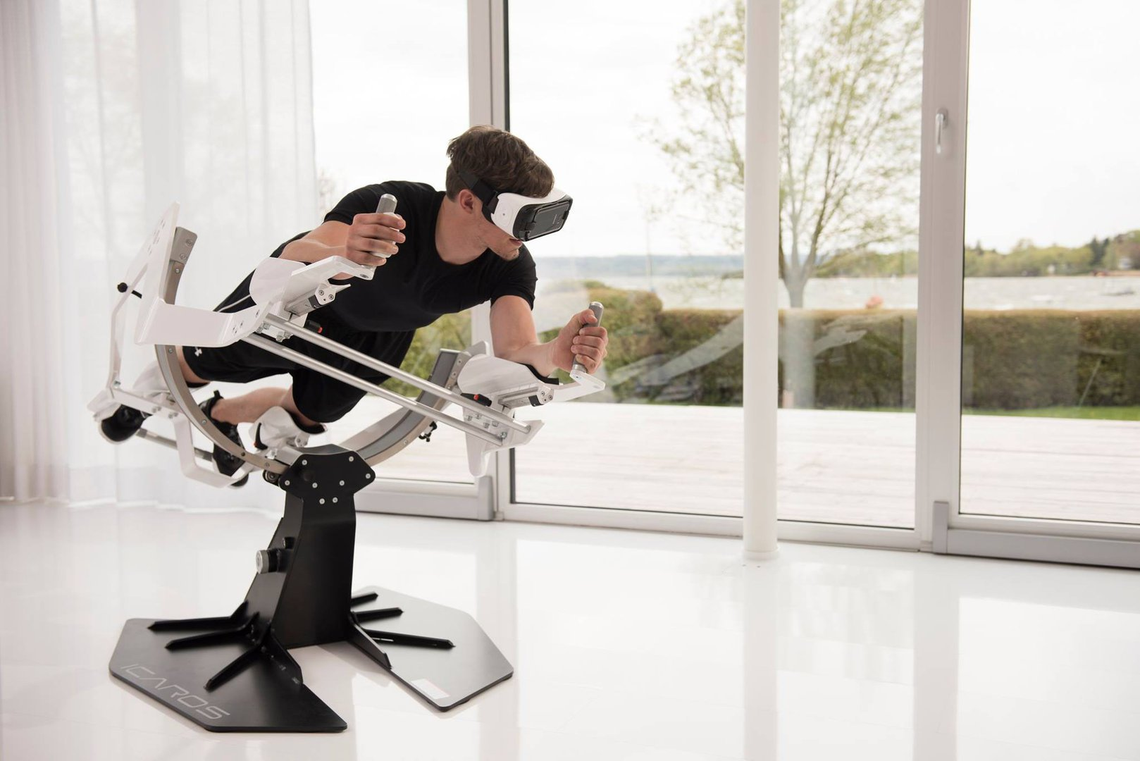 driving simulator chair office high back the future of staying fit: see icaros active vr experience - living plugin-magazine.com
