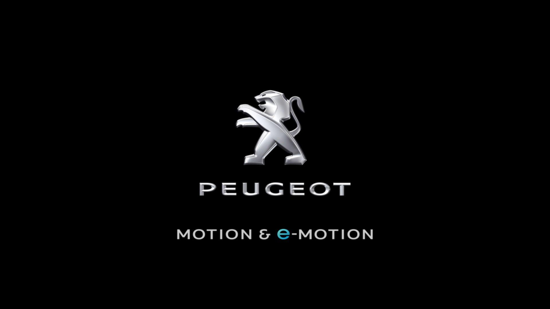 peugeot revelaing new logo