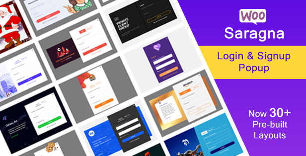 WooCommerce Login - Registration Popup Plugin