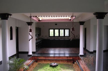 Indoor rainwater harvesting tanks