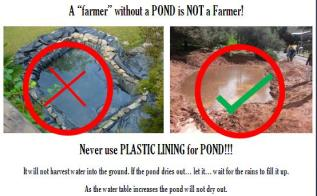 Dont use plastic liner
