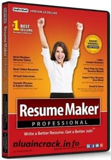 ResumeMaker Professional Deluxe 20.1.3.171 With Crack