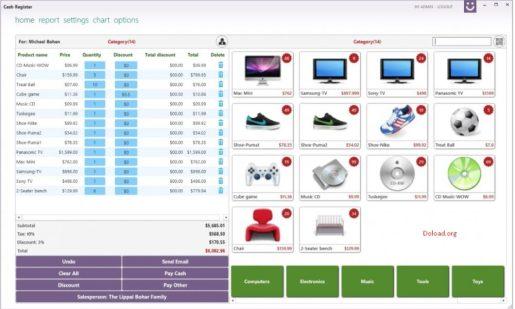 Cash Register Pro 2.0.6.3 With Keygen Download Crack