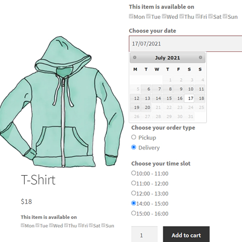 Delivery date per product - a WooCommerce plugin by ByConsole