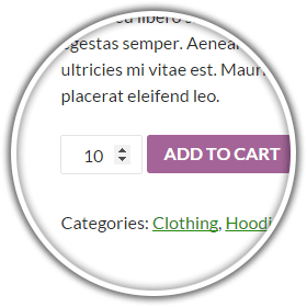 Minimum Quantity Feature