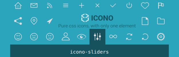 Icono – Pure CSS Icons for WordPress