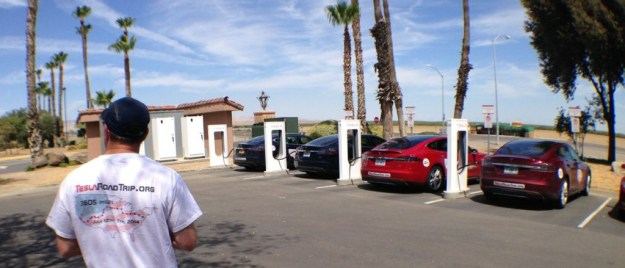 Harris Ranch Tesla Supercharger