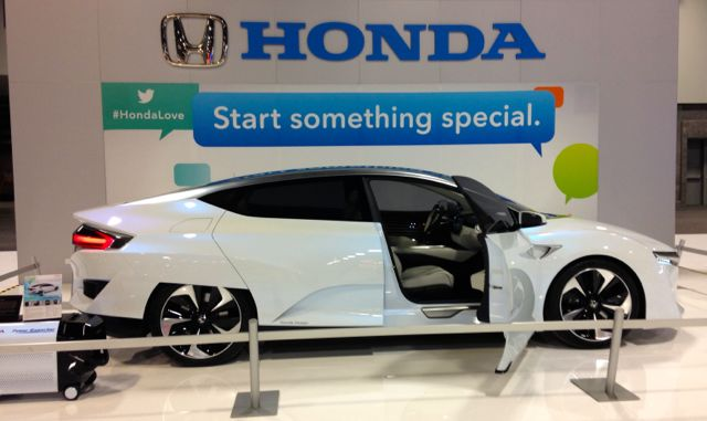 Honda FCV #WAS15