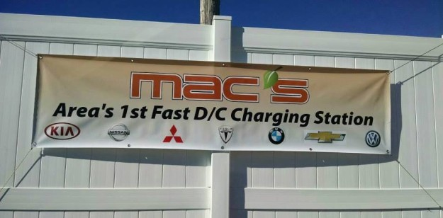 Mac's Service Center has first DC Fast Charger in Richmond, VA area