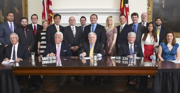 Maryland HB 235 Bill Signing Governor Hogan