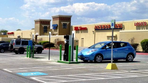 Hagerstown Premium Outlets Electric Vehicle Charging Station NRG eVgo
