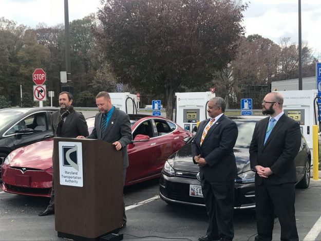 Maryland House EV Charging Stations