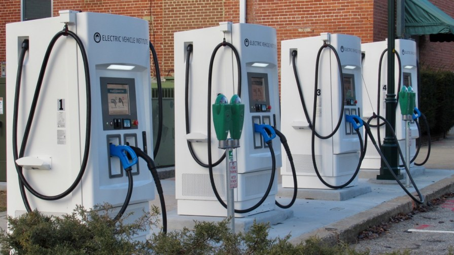 Hagerstown Maryland EV Chargers