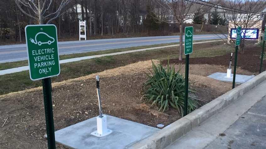 BGE EVsmart Parking Signs
